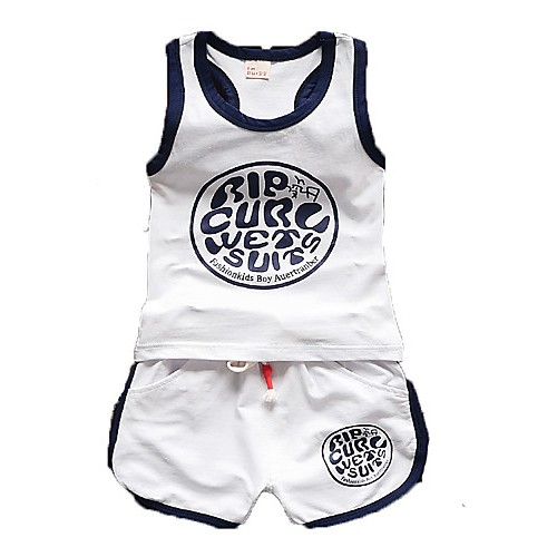 Boy Cotton Clothing Set,Summer Sleeveless