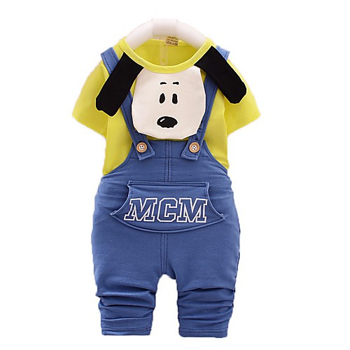 New Summer Children Clothes,Boy Suit,Overalls,Children Cotton Suit,Baby Gentle Clothes